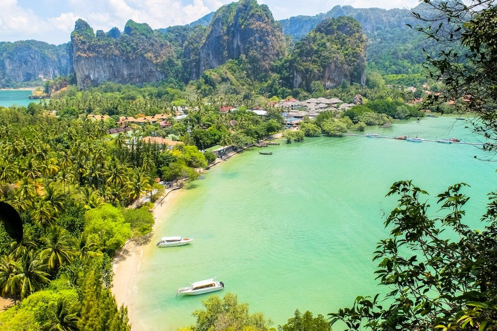 A view from the Railay viewpoint - Railay East, Krabi