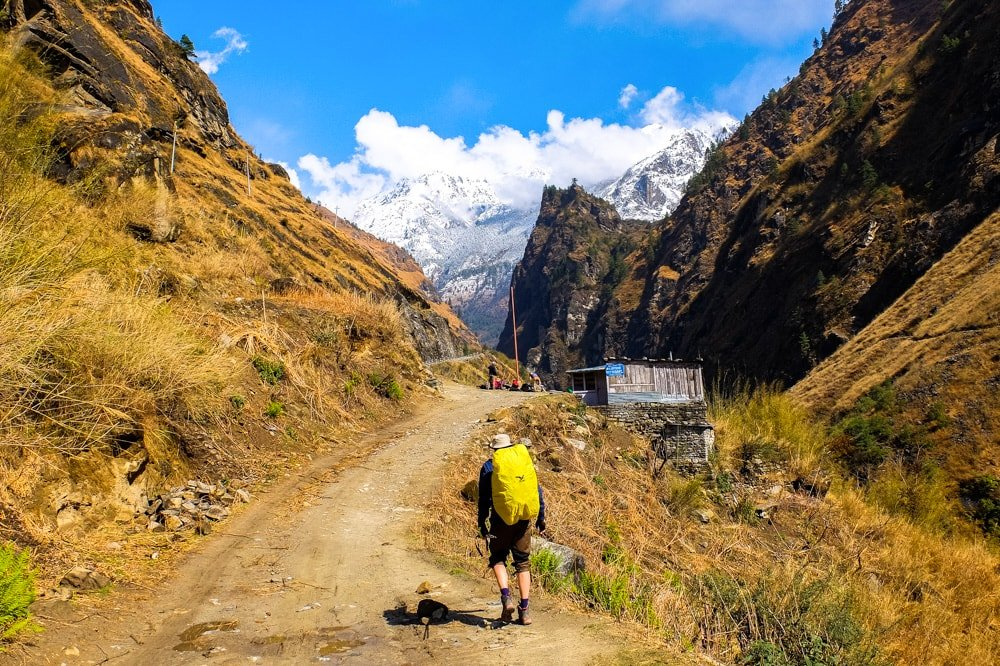Hiking Annapurna Circuit Trek