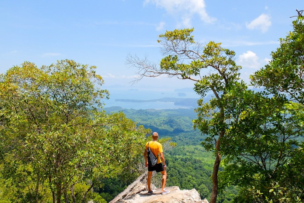 Hiking near Krabi