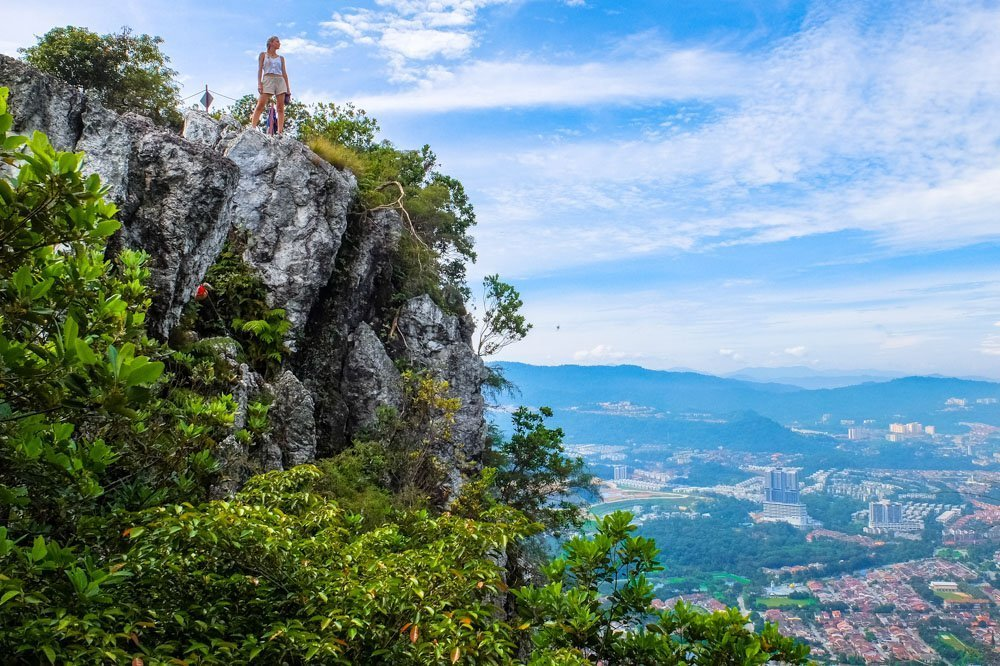 A view from Bukit Tabur