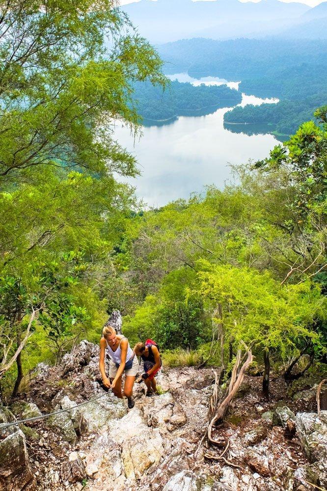 Bukit Tabur hiking experience