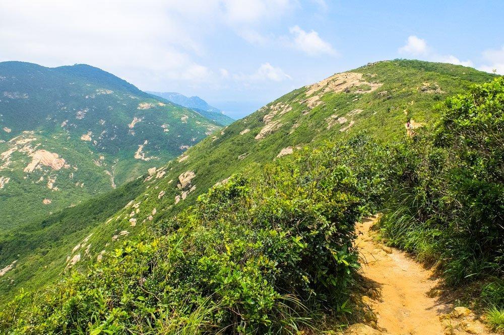 Hiking to the Shek O Peak
