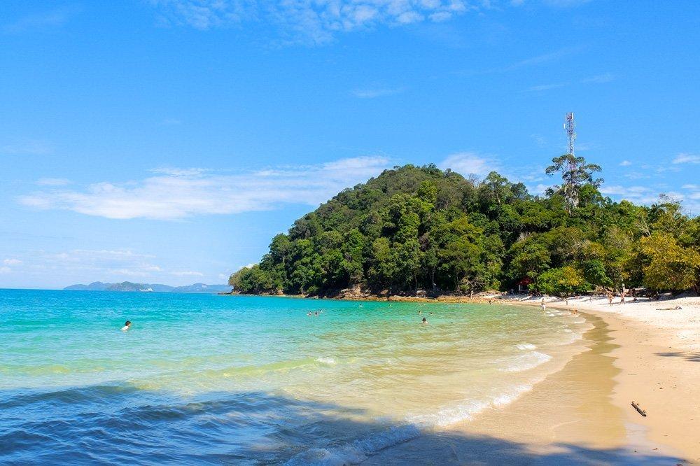 Beach in Langkawi, Malaysia