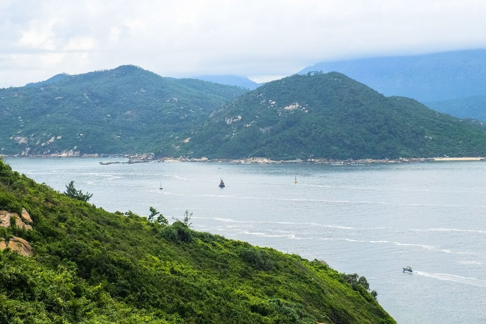 Islands near Cheung Chau