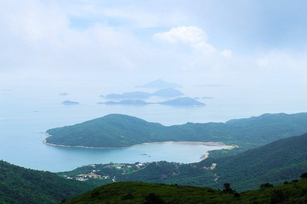 Islands near Lantau Island
