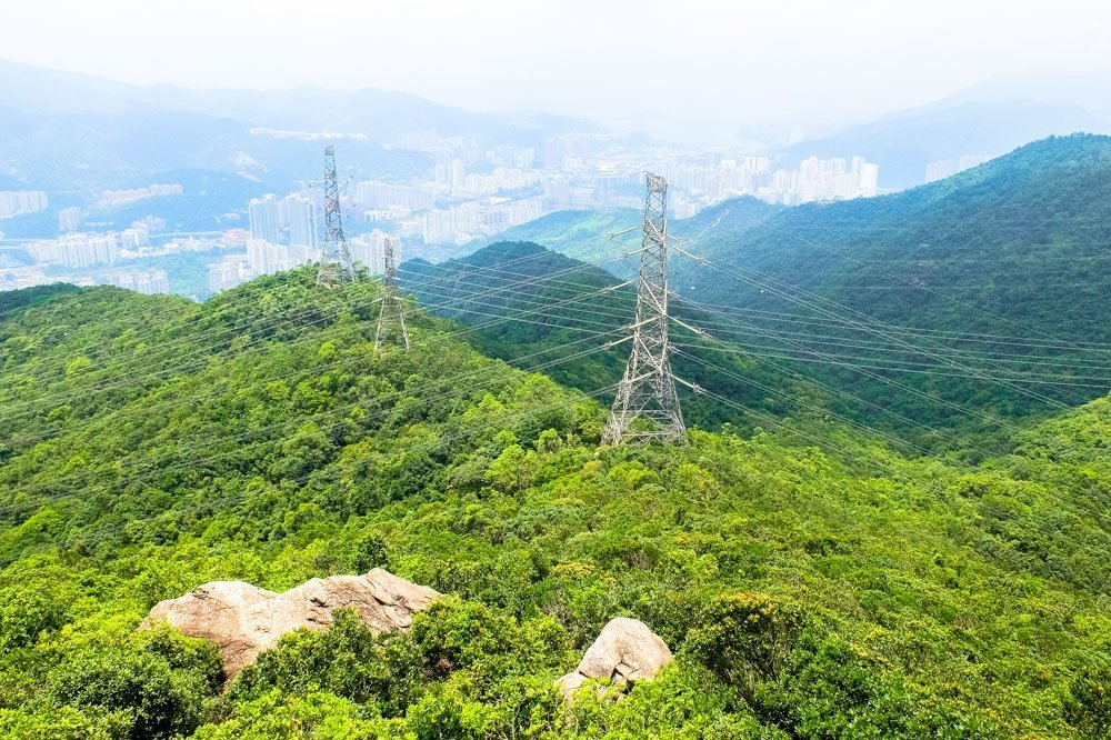 Mountains in Hong Kong