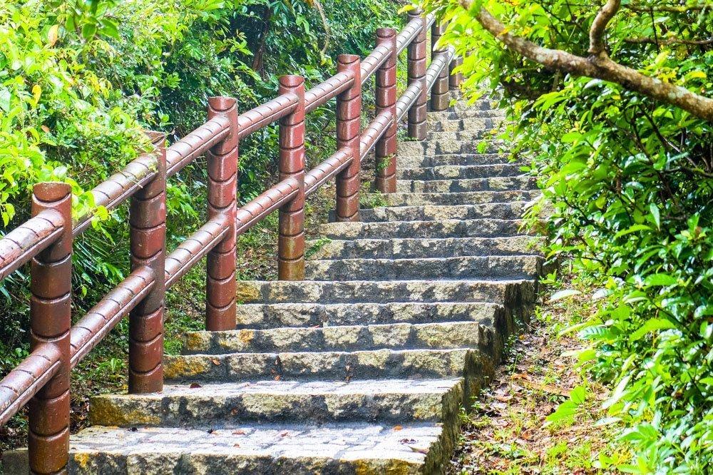Stairs on Cheung Chau