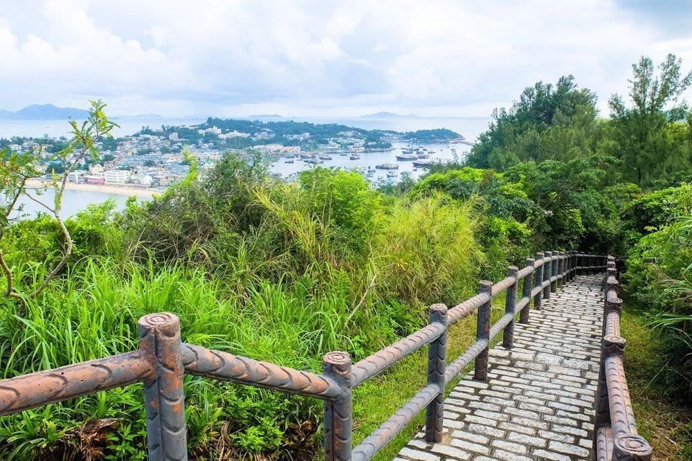 Stairs to Cheung Chau
