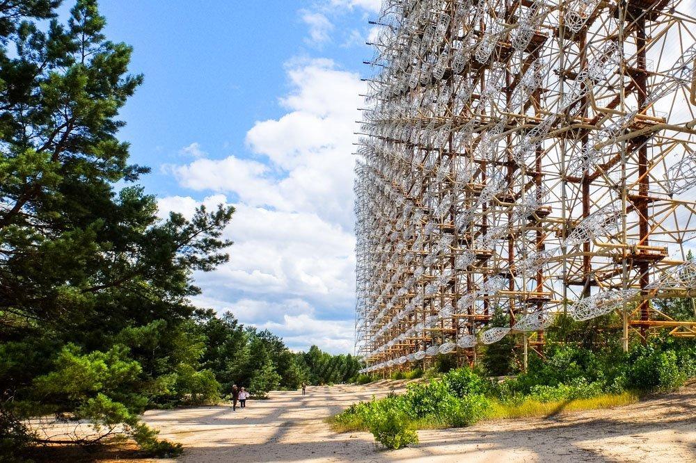 The Duga radar system