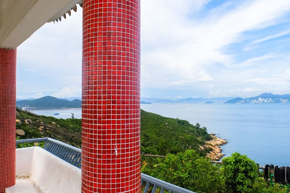 The North Lookout Pavilion on Cheung Chau