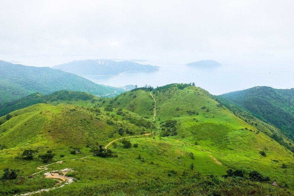 Trail across the Lantau Island