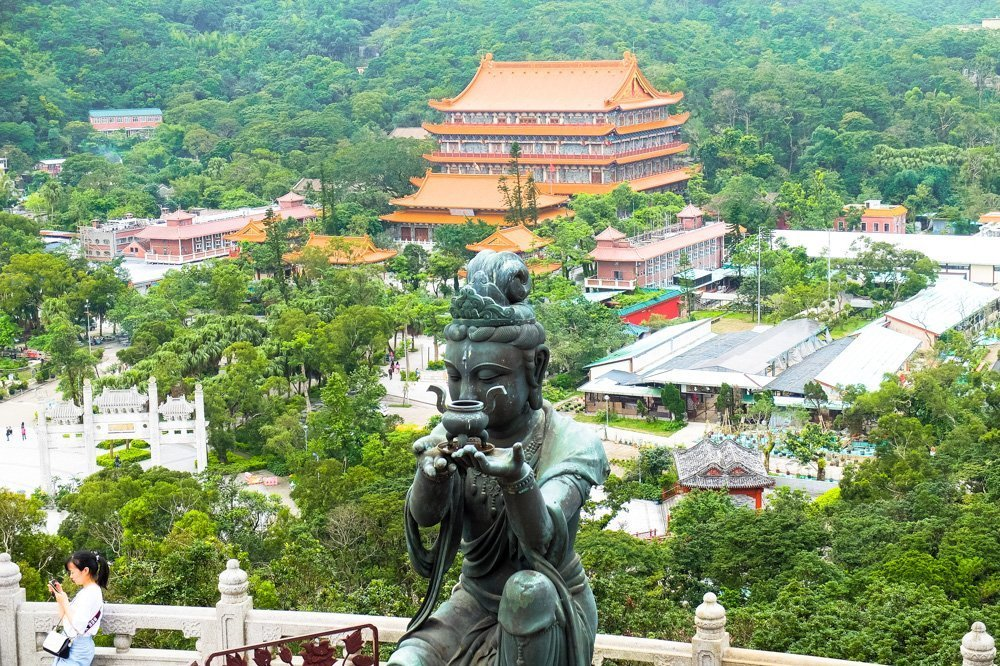 View from Big Buddha