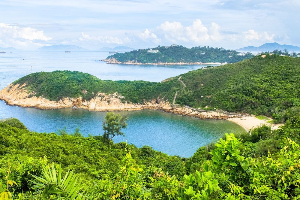 Views of the Cheung Chau Hike