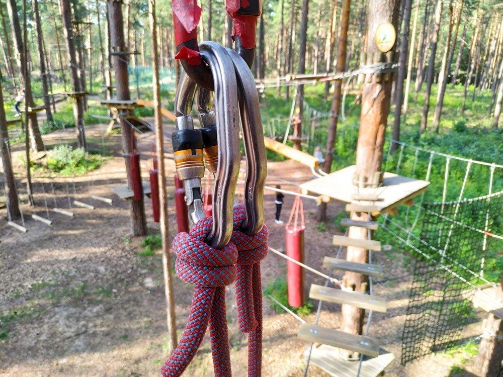 Adventure park Mezakakis, Riga