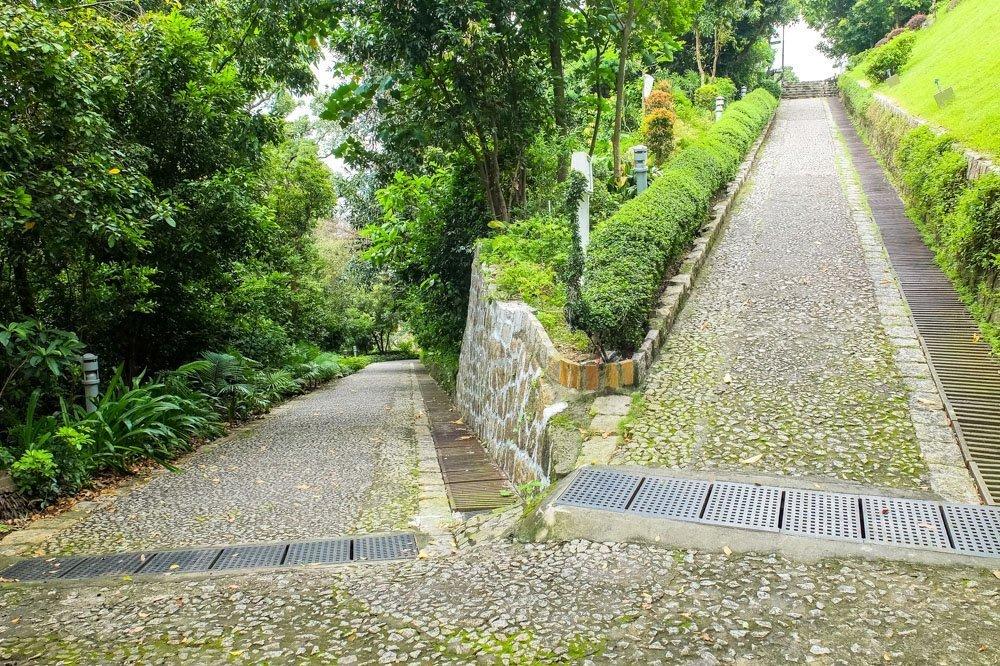 Guia Hill Hike in Macau