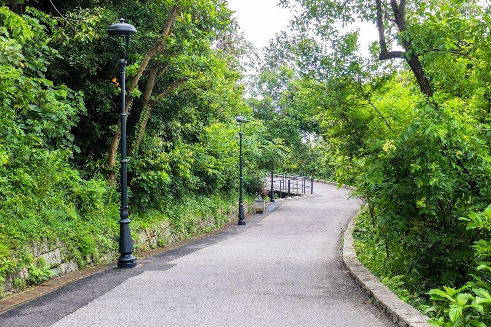 Guia Hill road, Macau