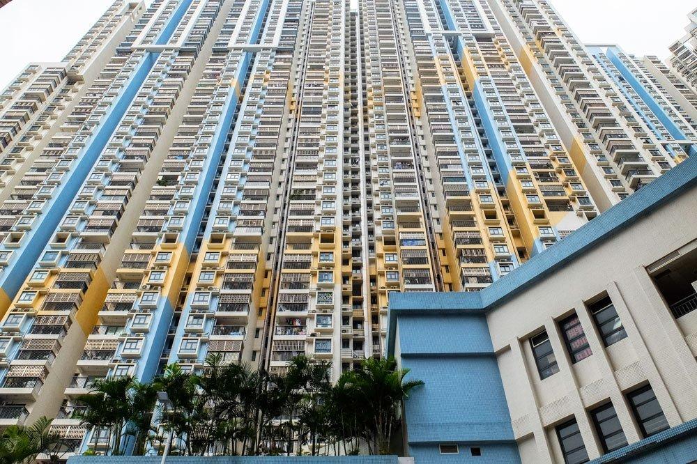 High rise buildings in Macau