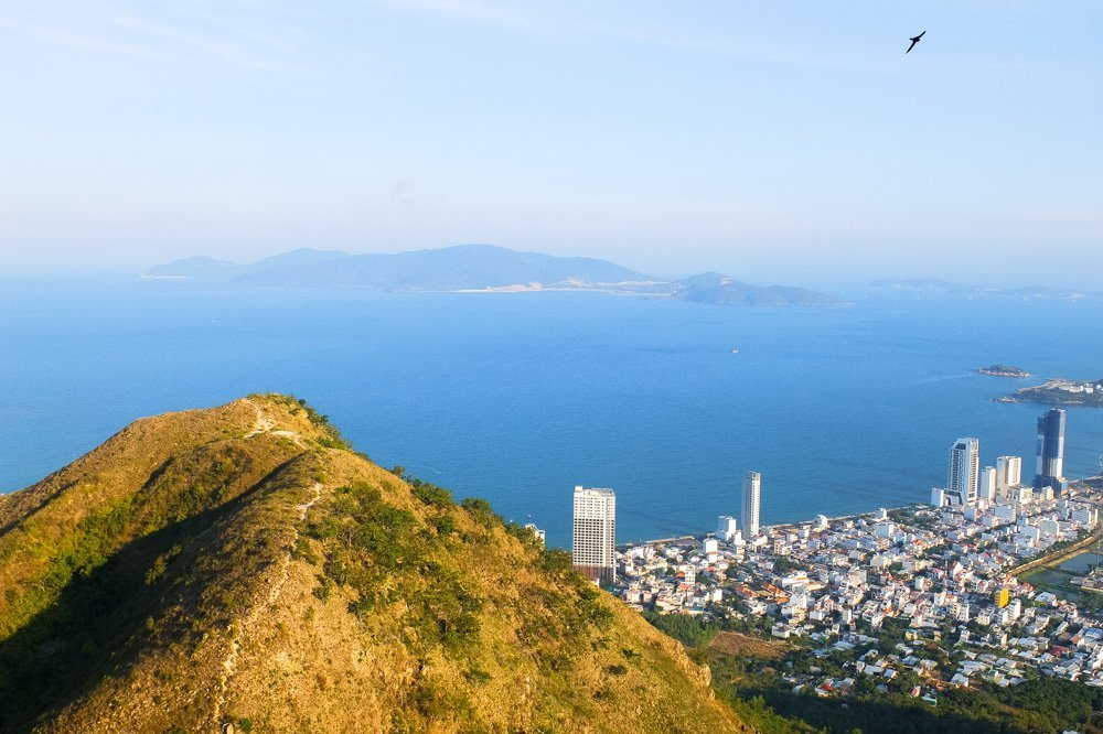 Hiking in Nha Trang - A view of the city from above