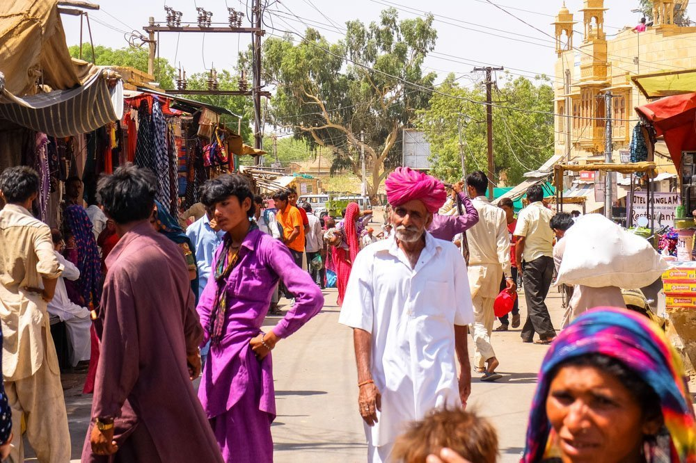 People in Jaisalmer