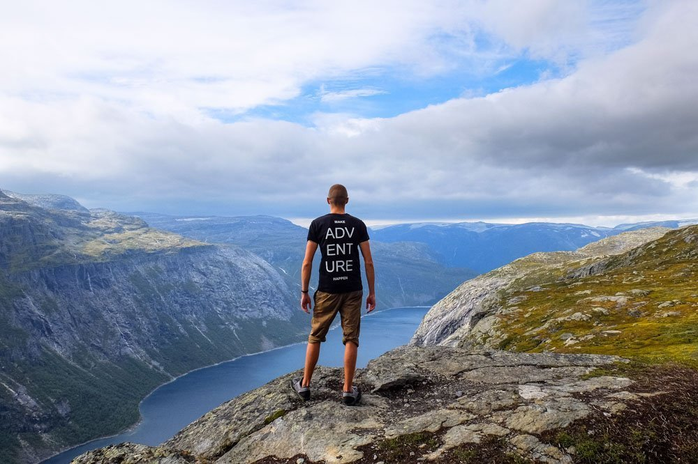 Kaspars in Norway - Make Adventure Happen