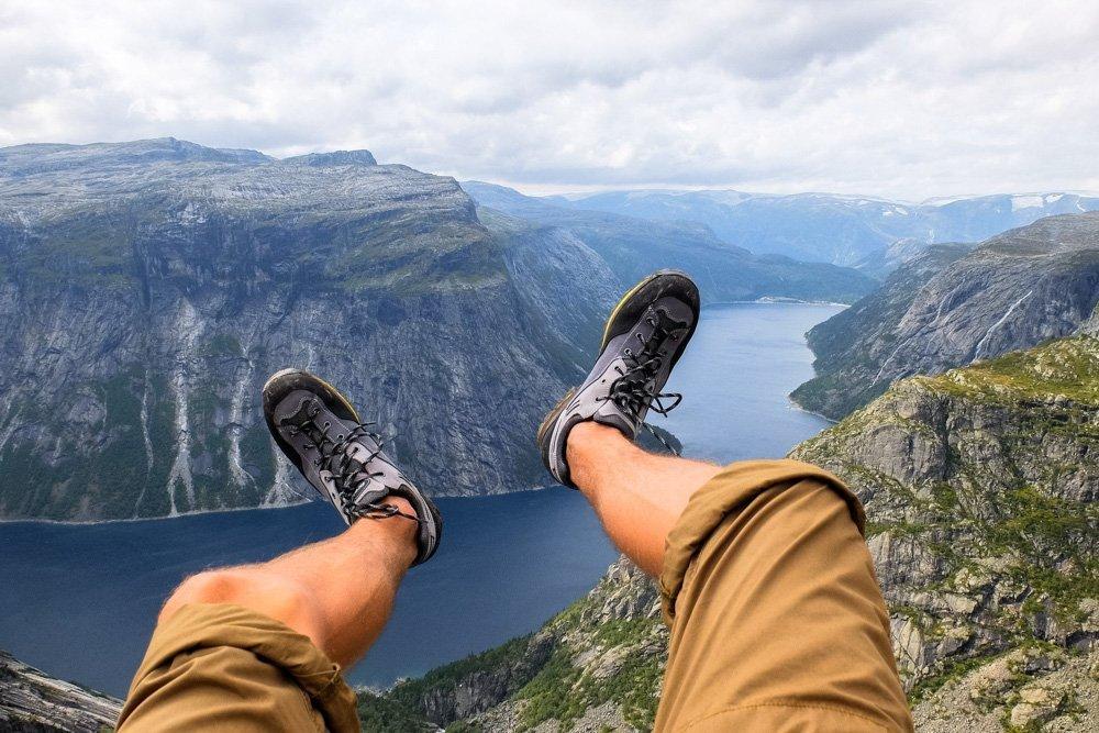 Prabos hiking shoes