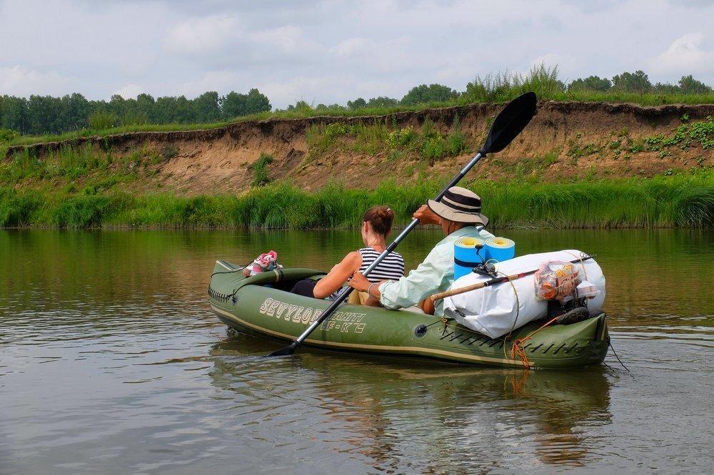 Kayaking in Siberia