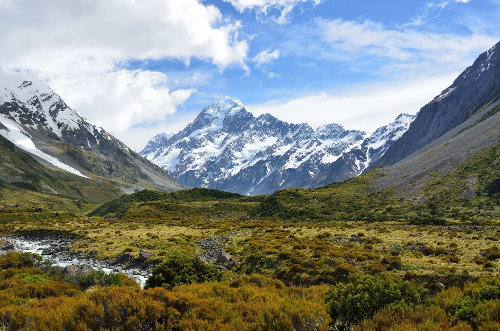 Aoraki, Mount Cook, New Zealand