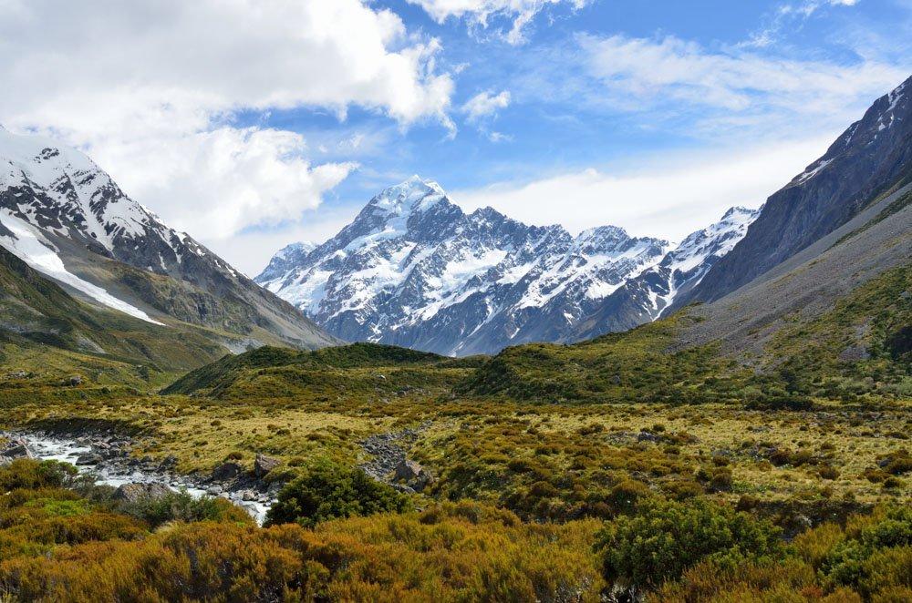 Aoraki, Mount Cook, New Zealand