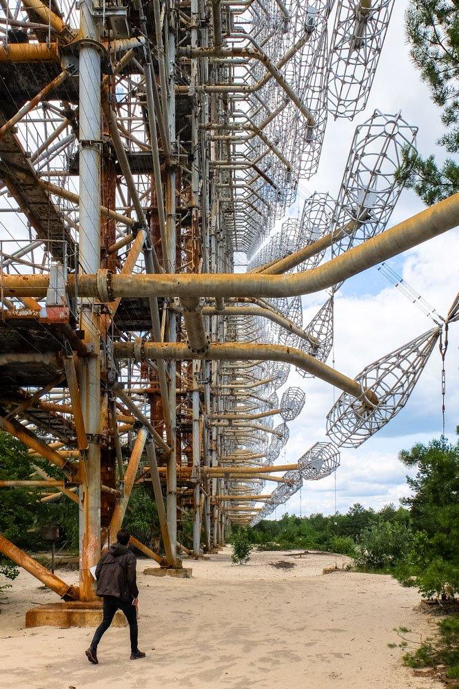 Duga radar system in Chernobyl