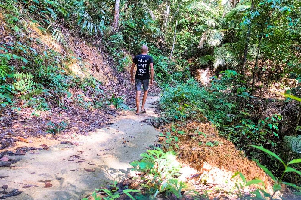 Hiking in Penang