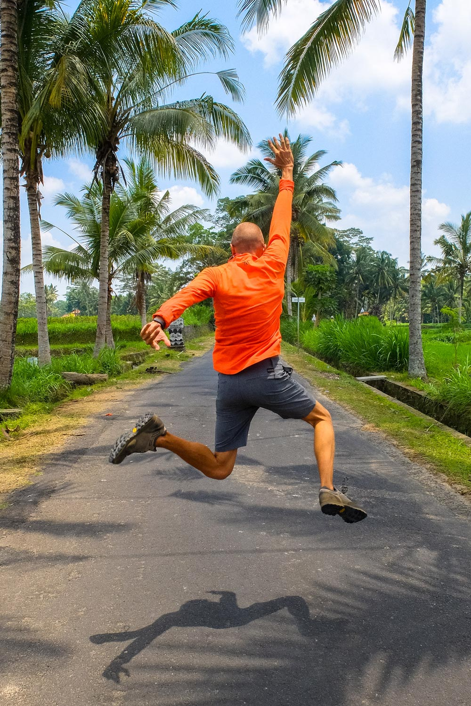 Jumping in Bali