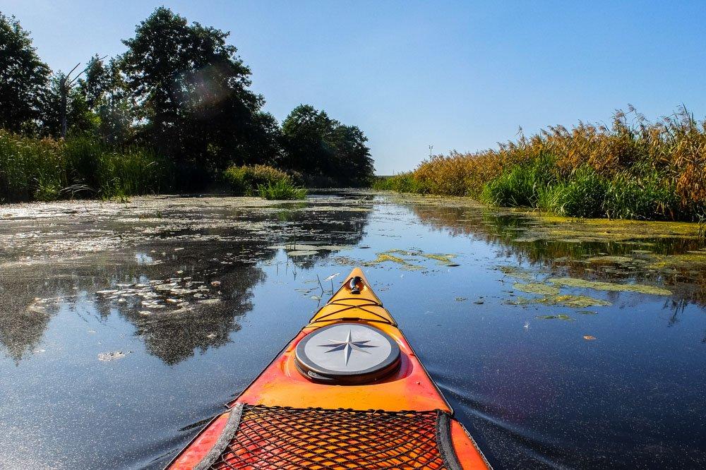 Kayaking near Riga