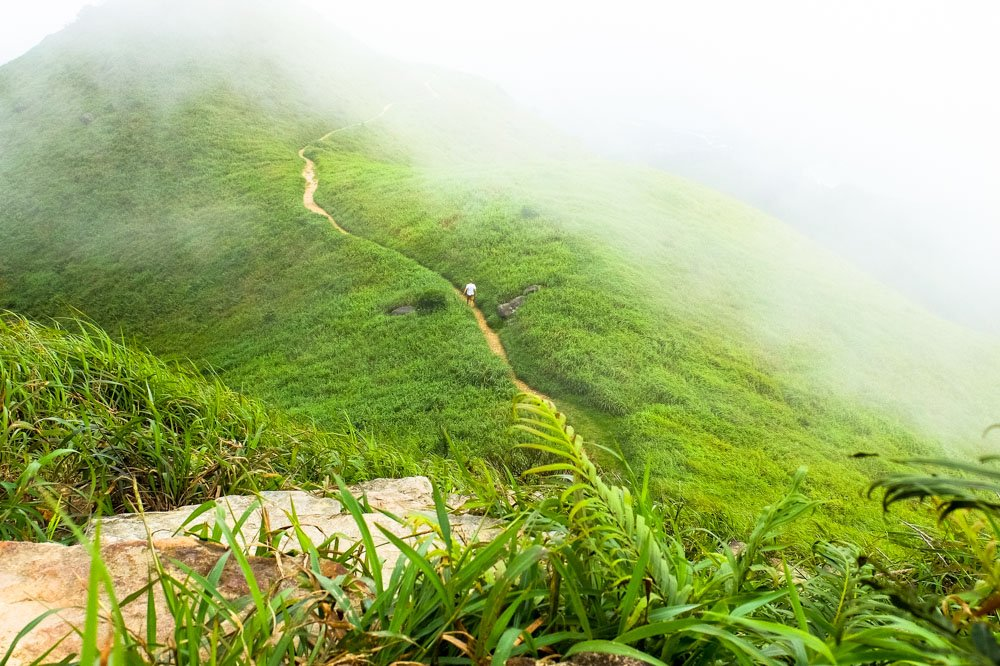Lantau Peak Hike in Hong Kong