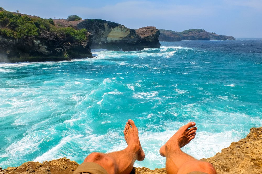 Ocean near Bali