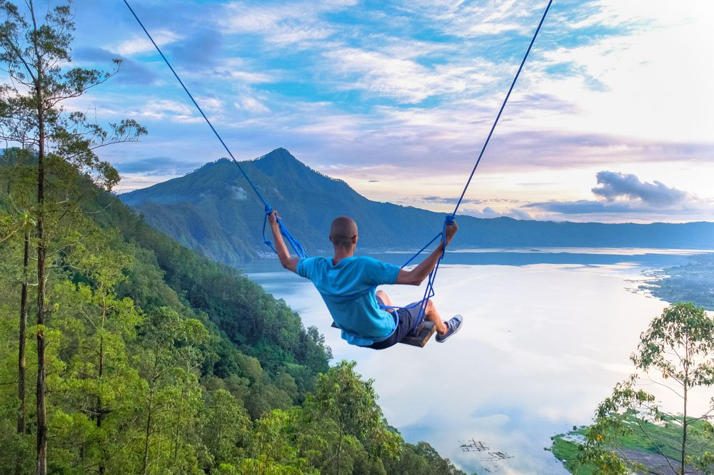 Swing in Bali, Indonesia