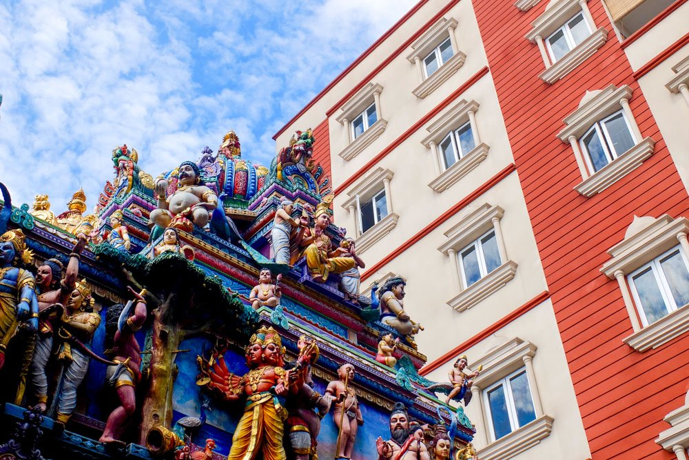 A temple in Little India