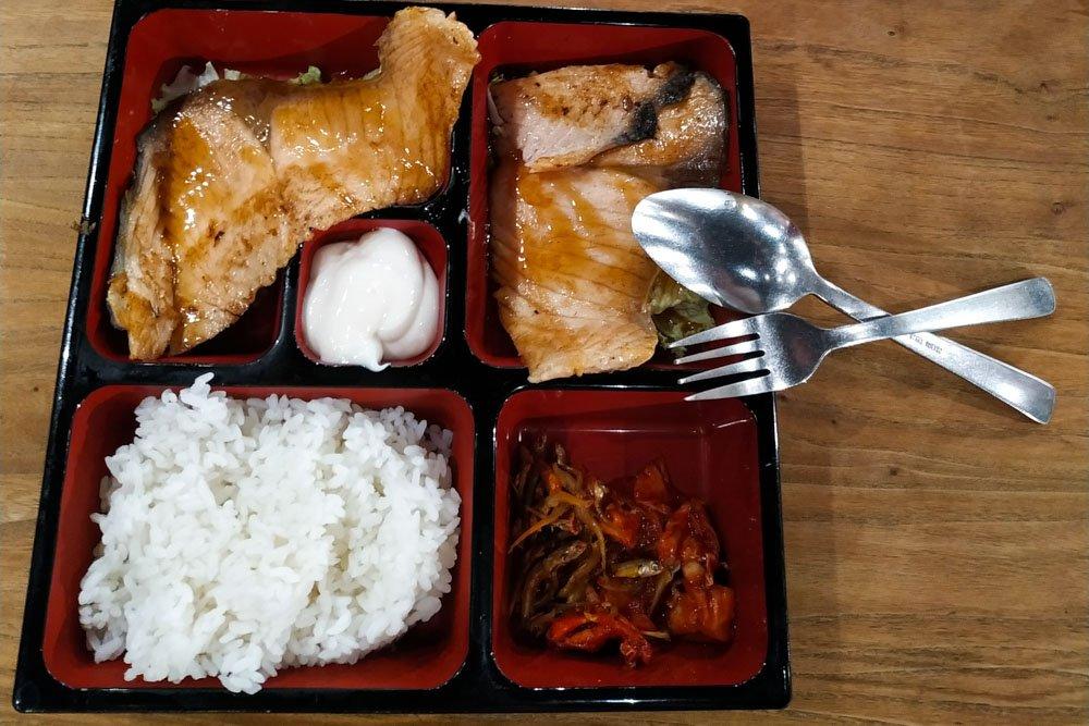 Korean dinner in Singapore