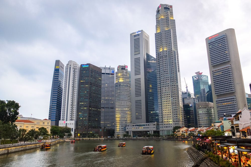 Skyscrapers at Central Business District