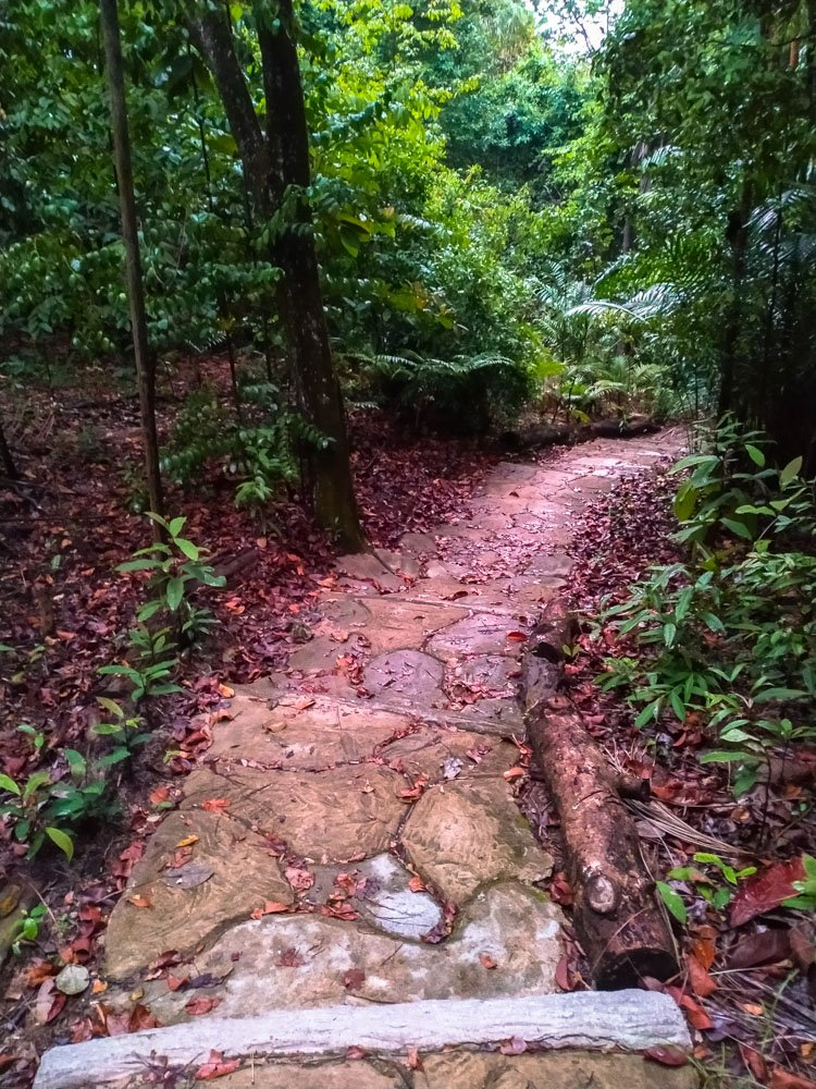 Trail on Sentosa