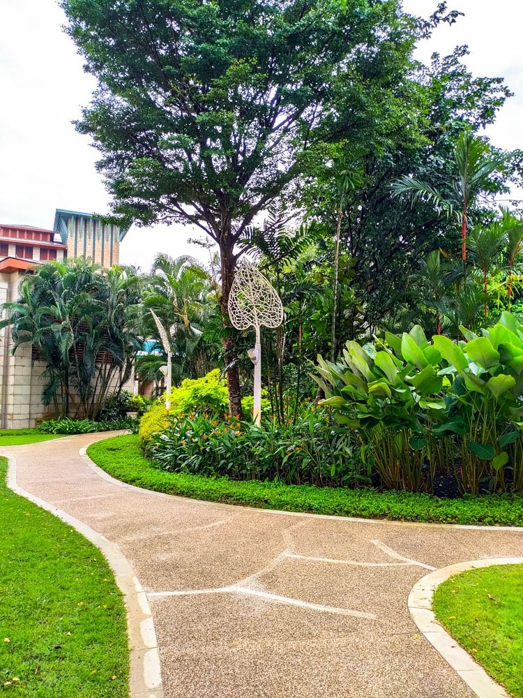 Walkways on Sentosa Island
