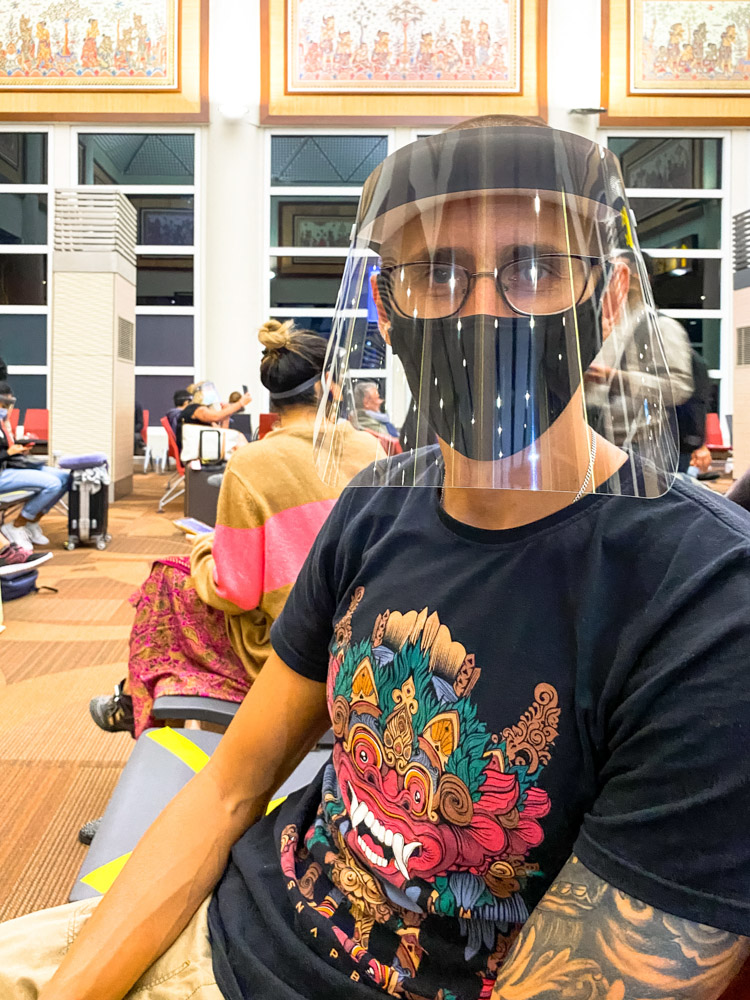 Flying from Bali during the pandemic