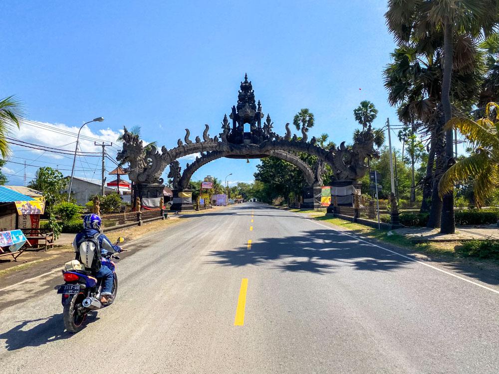 Gates to Gilimanuk, Bali