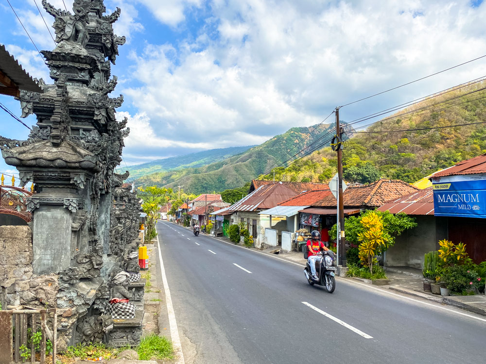 Road in the North of Bali