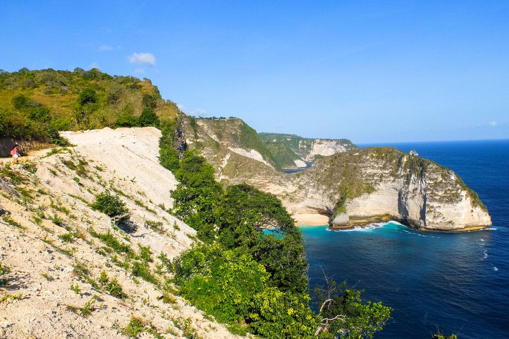 Road near the coast - Nusa Penida