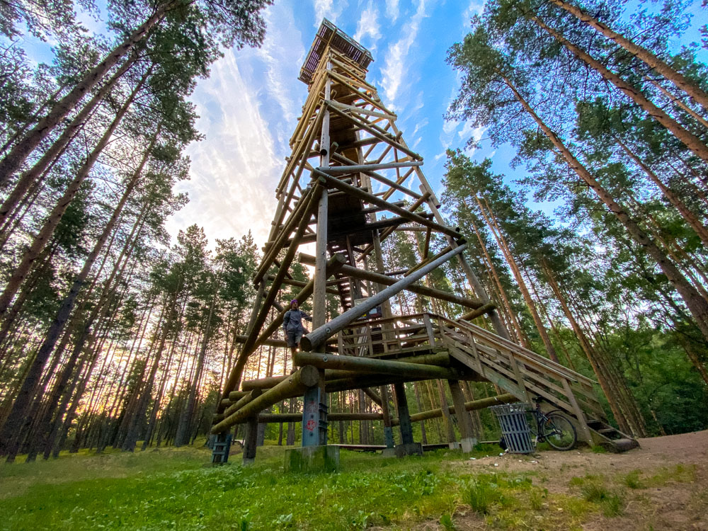 Standing on the Bumbu Hill Firewatch Tower