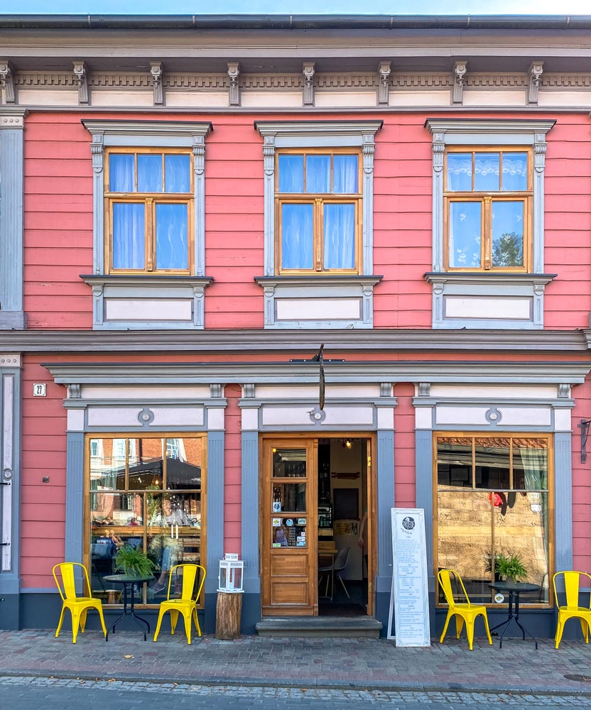 A cute cafe in Cesis
