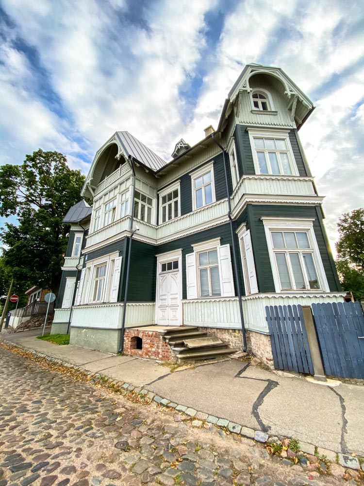 A historical building on Kipsala island