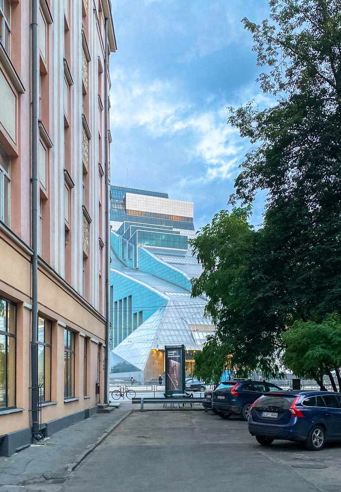 Central library in Riga