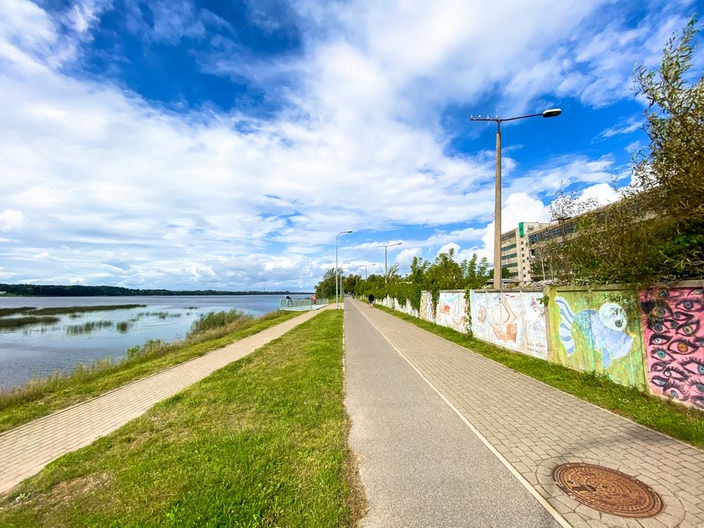 Daugava promenade
