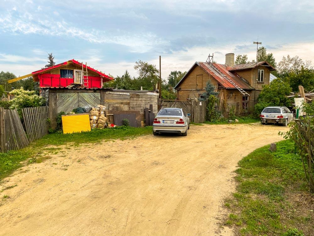 Houses in Kundzinsala, Riga